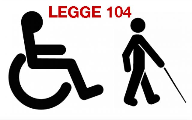 Aspettativa con Legge 104