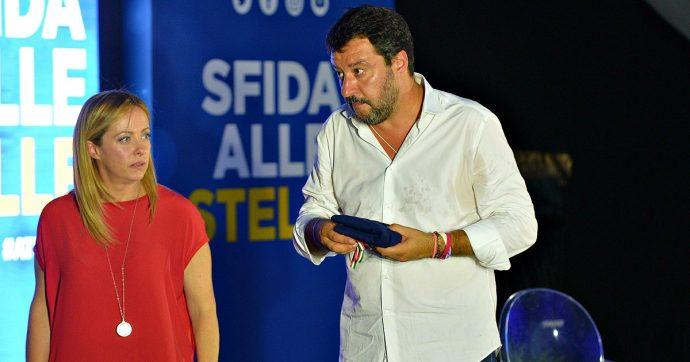 Ultimi sondaggi politici, la Lega sale ancora, caduta libera per il Pd e M5S, Fratelli d'Italia supera Forza Italia, Renzi al 5,2%