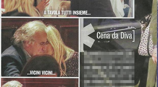 Mara Venier e Jerry Calà serata tra amici con Massimo Boldi e la fidanzata