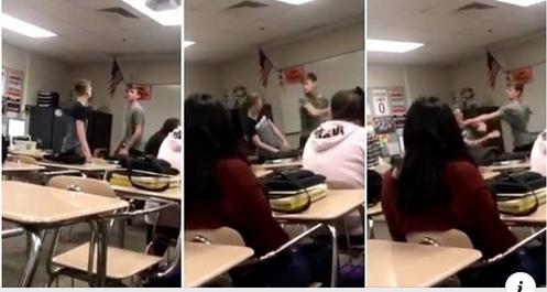 """Studente gay picchia il bullo omofobo: """"Prova a chiamarmi ancora fr…"""""""