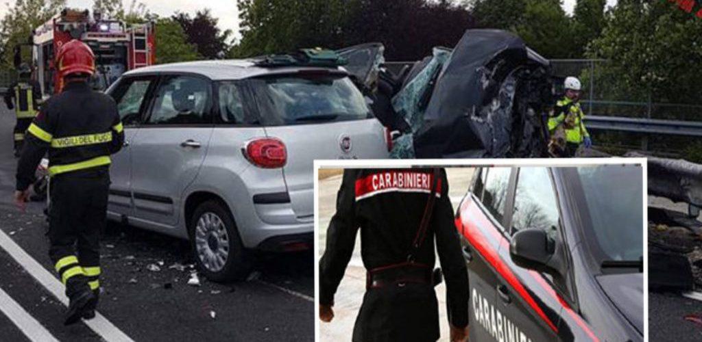 Ultim'ora Carabiniere investito mentre effettua i rilievi dopo un incidente: è in fin di vita