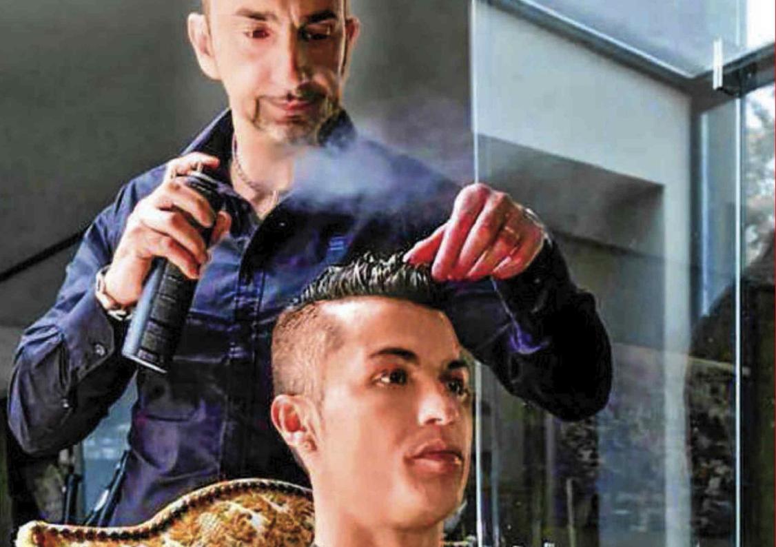 Shock per Cristiano Ronaldo, ucciso l'amico parruchiere