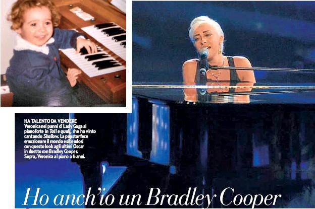 Veronica Perseo, che ha vinto il Tale e quale dei non famosi con la strepitosa imitazione di Lady Gaga