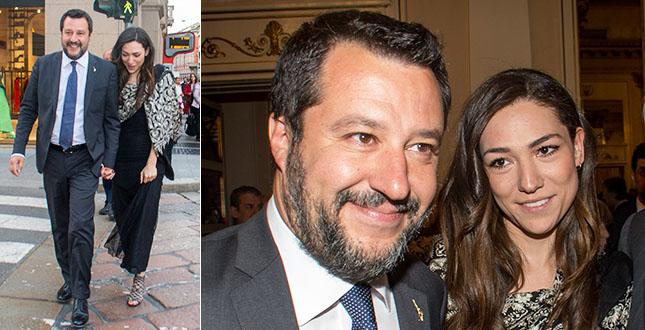 Matteo Salvini aspetta un figlio dalla sua Francesca?
