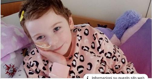 """Bimba malata di cancro muore a 8 anni: per i medici aveva solo """"dolori della crescita"""""""