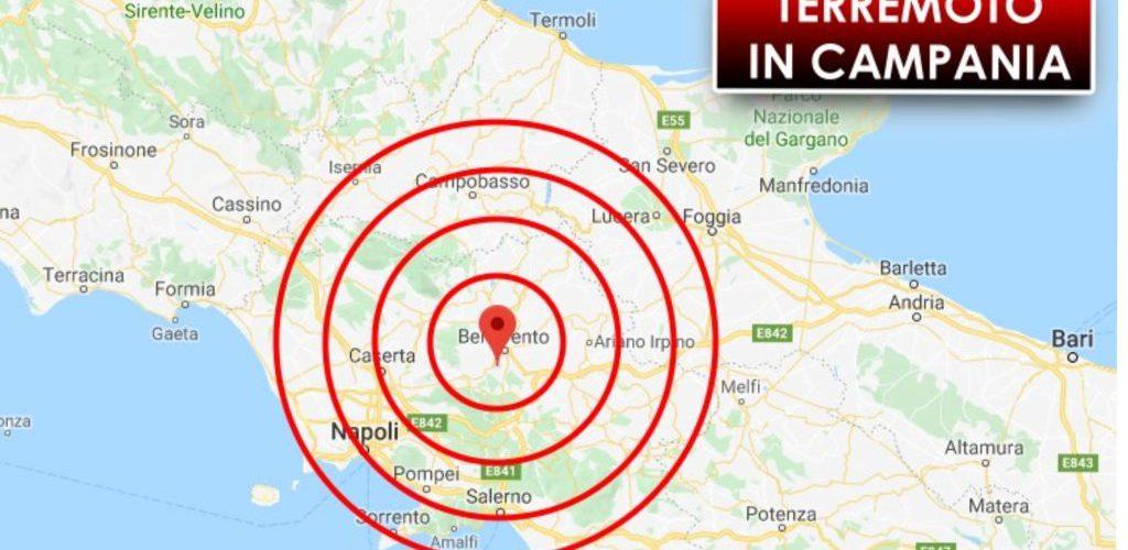 TERREMOTO-Non si fermano le scosse in Campania: la più forte alle 11:36