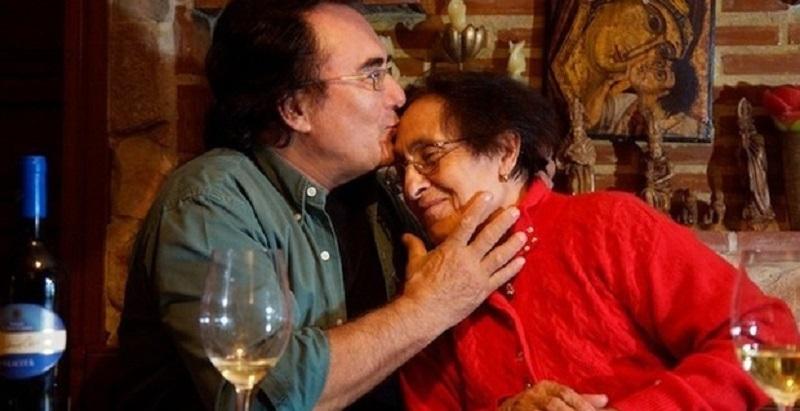 Albano Carrisi  il suo dolore, addio mamma Jolanda
