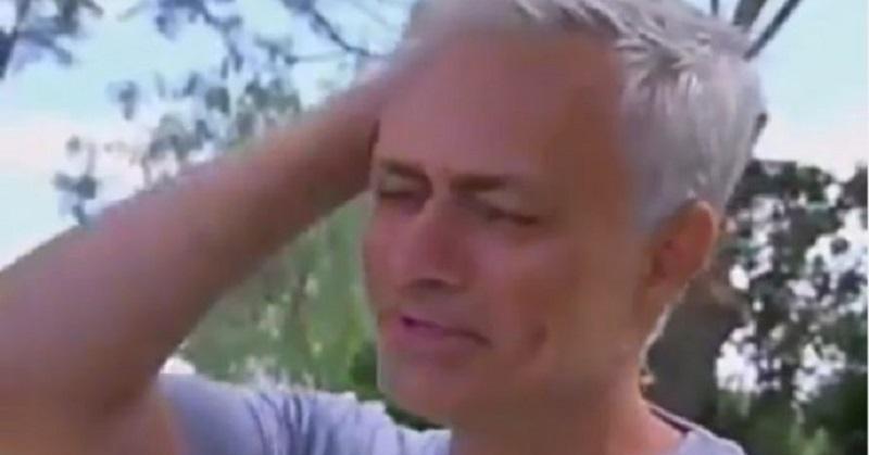Il lutto di Jose Mourinho: lo Special One non trattiene le lacrime in diretta Tv