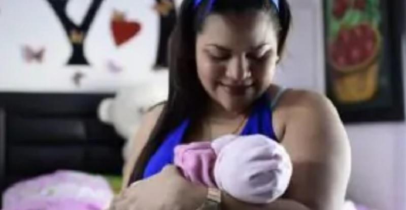 Neonata nasce 'incinta', taglio cesareo a 24 ore dalla sua nascita (Foto)
