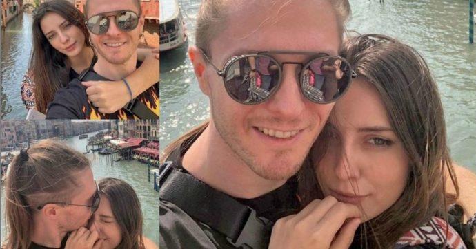 Raffaele Sollecito felici con la nuova ragazza uguale ad Amanda Knox