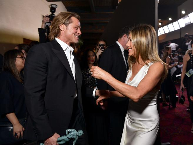Brad Pitt e Jennifer Aniston clamoroso,segreto svelato