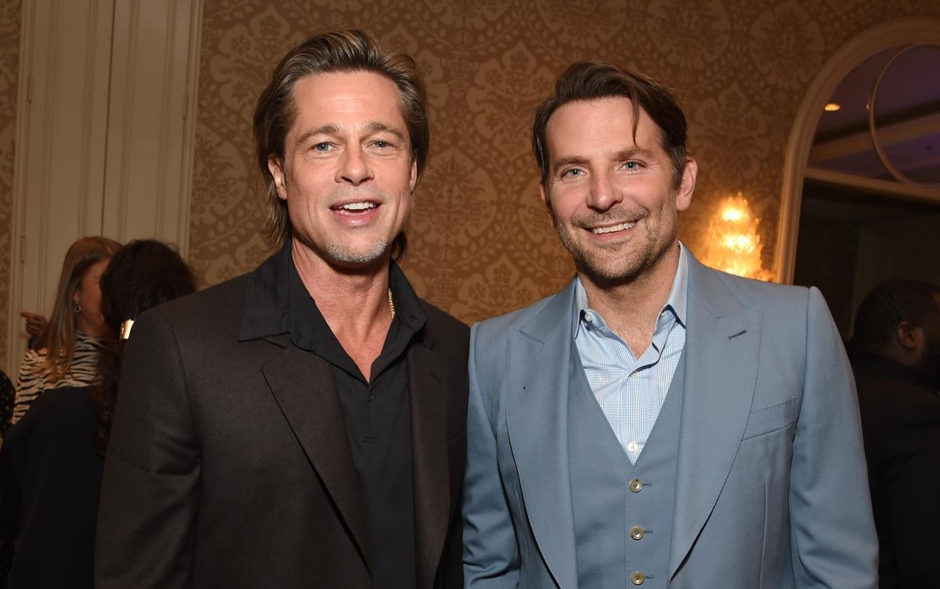 Brad Pitt e Bradley Cooper, belli, single e amici per la pelle