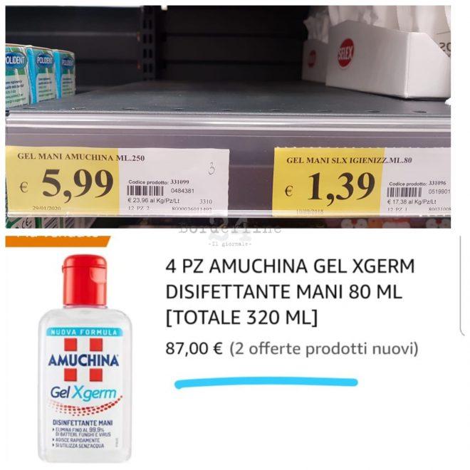 """Coronavirus Italia, il costo dell'Amuchina alle stelle: """"Siete degli sciacalli!"""""""