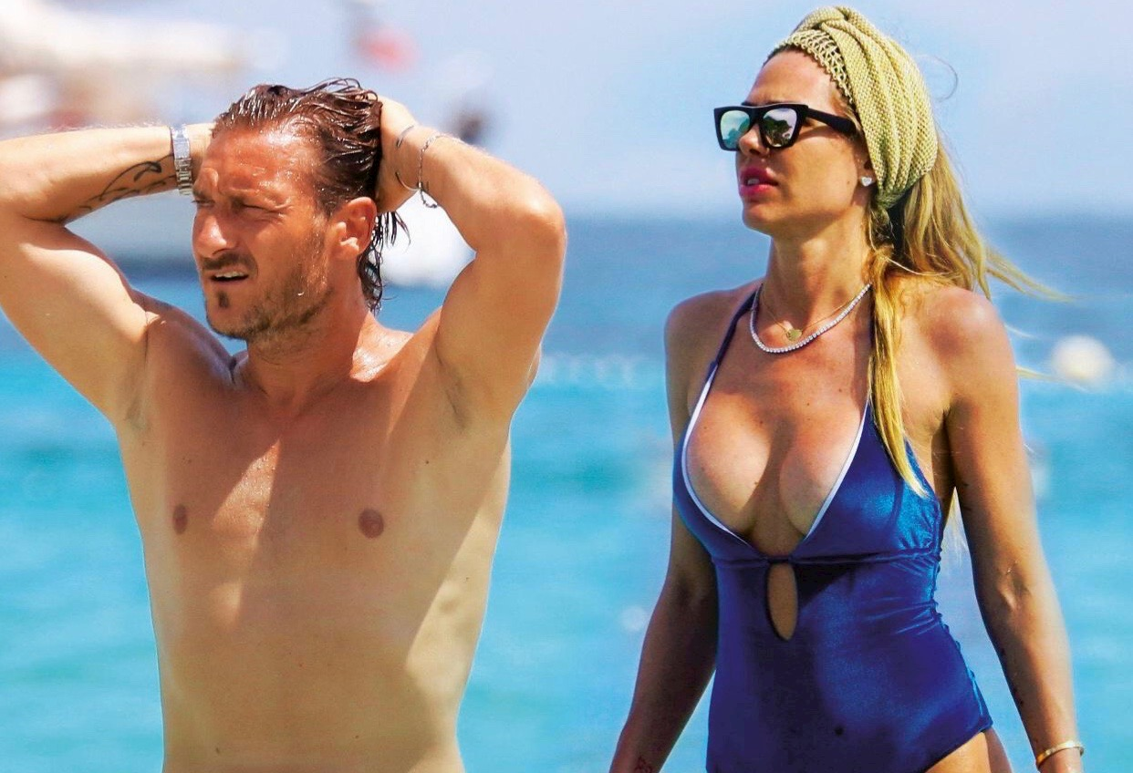 Francesco Totti e Ilary Blasi, «Un altro figlio? No, ho finito gli ovuli. Se Francesco lo vuole lo farà con un'altra»