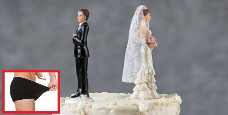 """""""Ha il pene piccolo"""", fanno sesso solo dopo il matrimonio e chiede il divorzio"""
