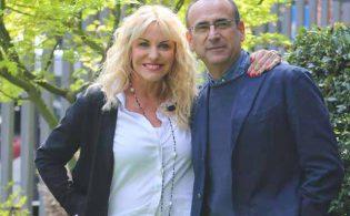 Antonella Clerici, Carlo Conti e Simona Ventura: come passano il tempo in casa