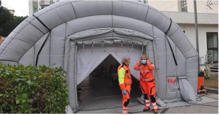 Niente più posti a Bergamo, pazienti positivi trasferiti a Palermo - Notizie 24 ore
