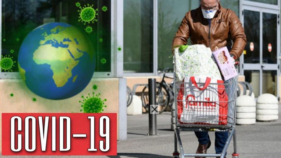 """Emergenza Coronavirus: """"Attenzione"""" Si rischia il contagio facendo la spesa. Le parole dell'esperto"""