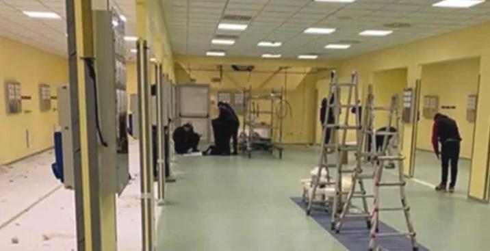 Coronavirus, quasi pronta la terapia intensiva costruita grazie ai soldi raccolti dai Ferragnez