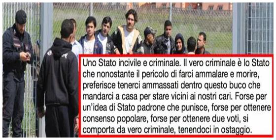 """La lettera choc di un detenuto: """"Voglio tornare a casa, lo Stato è criminale"""""""