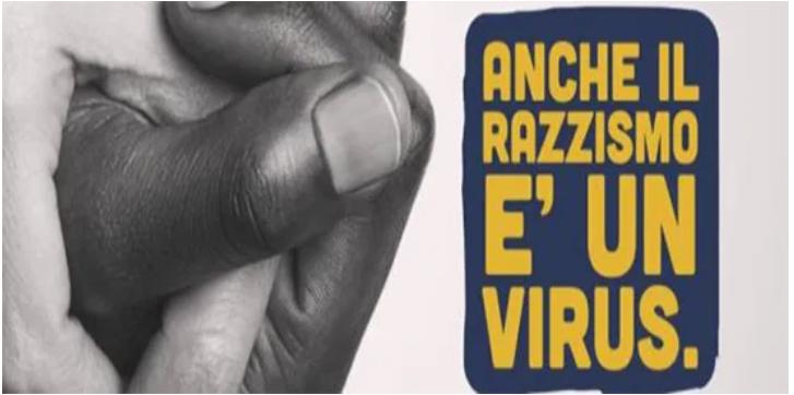 """Schiaffo delle sardine ai malati """"Anche il razzismo è un virus"""""""