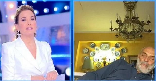 Paolo Brosio si addormenta in diretta: cosa fa la D'Urso