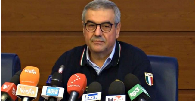 Angelo Borrelli il capo della Protezione Civile è malato. Annullata la conferenza stampa delle 18:00