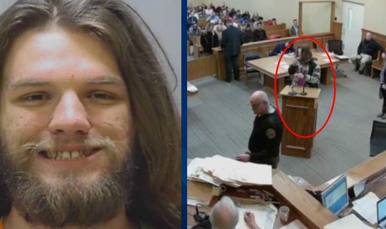 A processo per possesso di droga, si accende una canna in tribunale e finisce subito in carcere