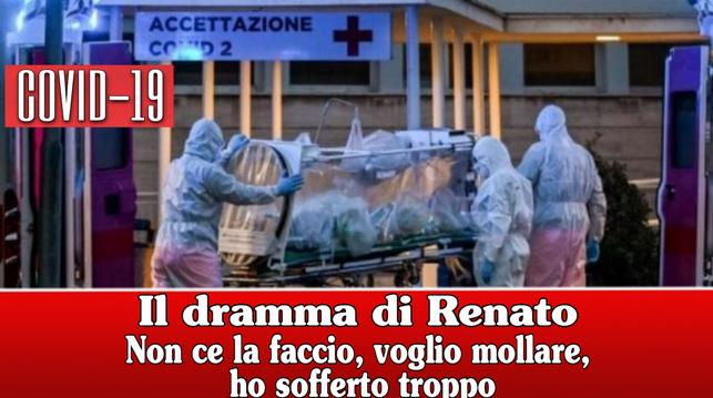 """A Radio 2 il dramma di Renato: """"Ho perso mio papà e mia sorella, mia madre ha la febbre a 38"""" Non ce la faccio, voglio mollare, ho sofferto troppo"""