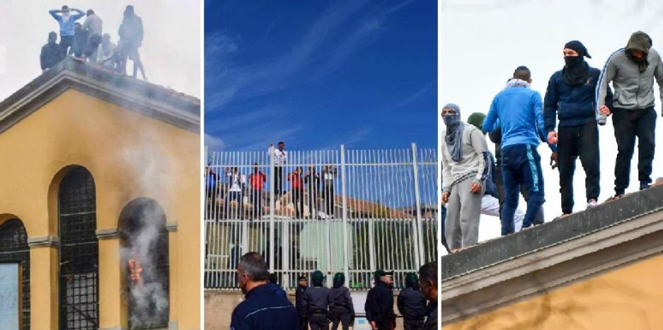 Coronavirus, carceri in rivolta. 6 detenuti morti, evasioni di massa con furti di automobili