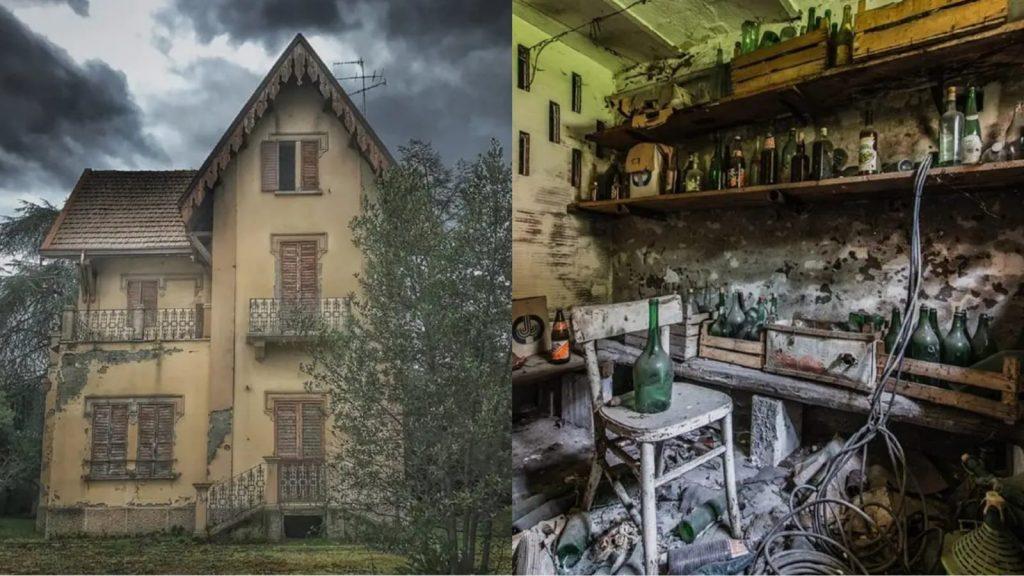 """La villa """"stregata"""" che spaventa e affascina un'intera città."""