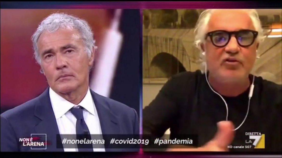 """""""Buffoni!"""". Flavio Briatore, furia contro Giuseppe Conte: """"I soldi? Ecco a chi li dovete dare"""""""
