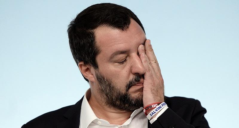 Matteo Salvini, coronavirus: positivo al tampone un poliziotto della scorta del leader della Lega