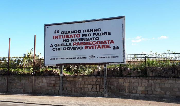 Cartelli contro corse passeggiate e spese inutili a Cagliari