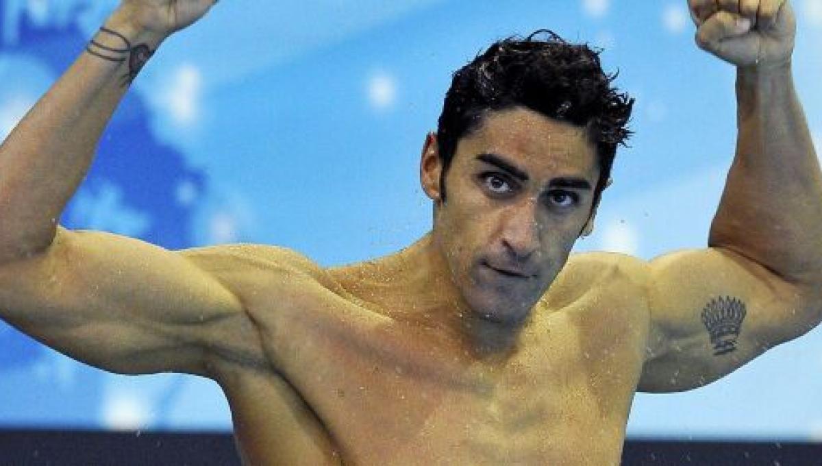 Filippo Magnini felice, assolto dall'accusa di doping
