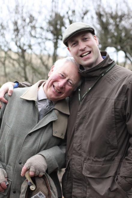 Il Principe William ha perdonato suo papà Principe Carlo