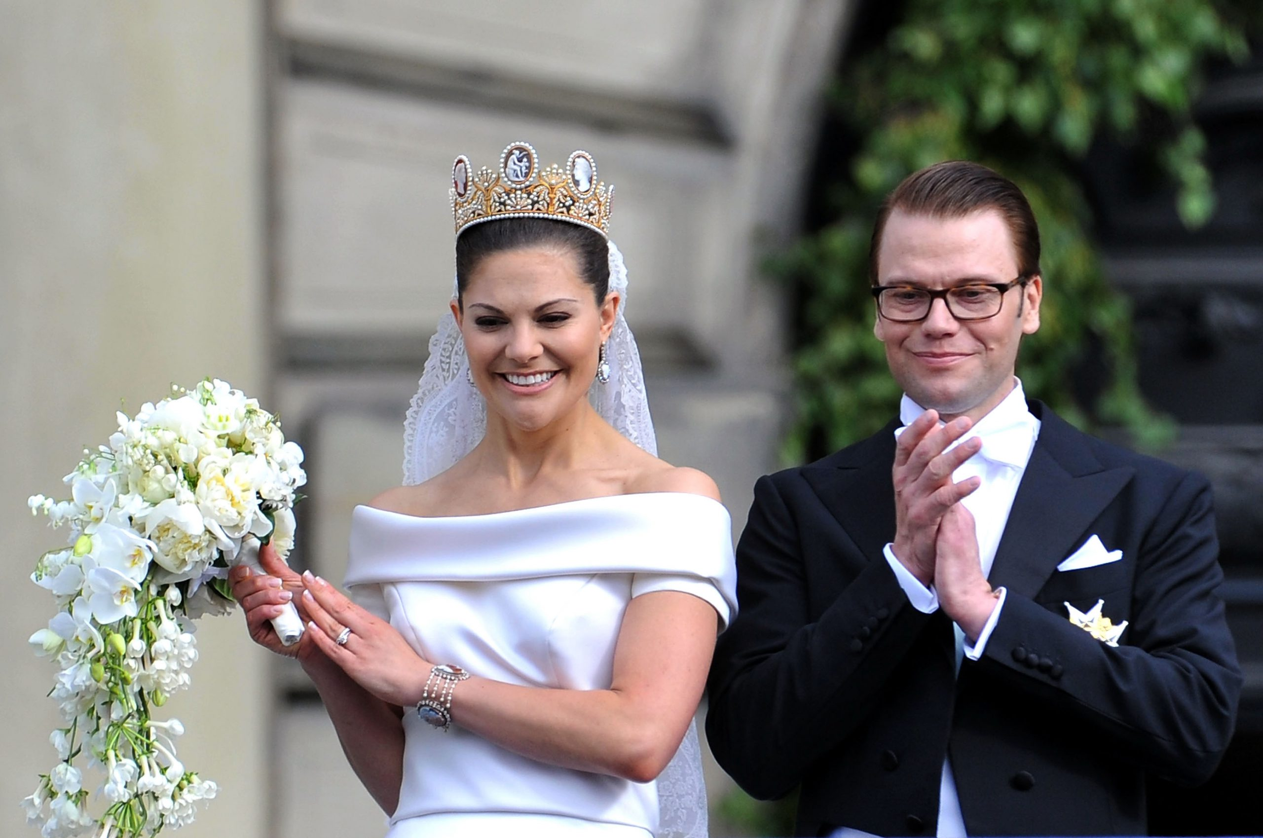 Victoria di Svezia e Daniel Westling, dieci anni di nozze