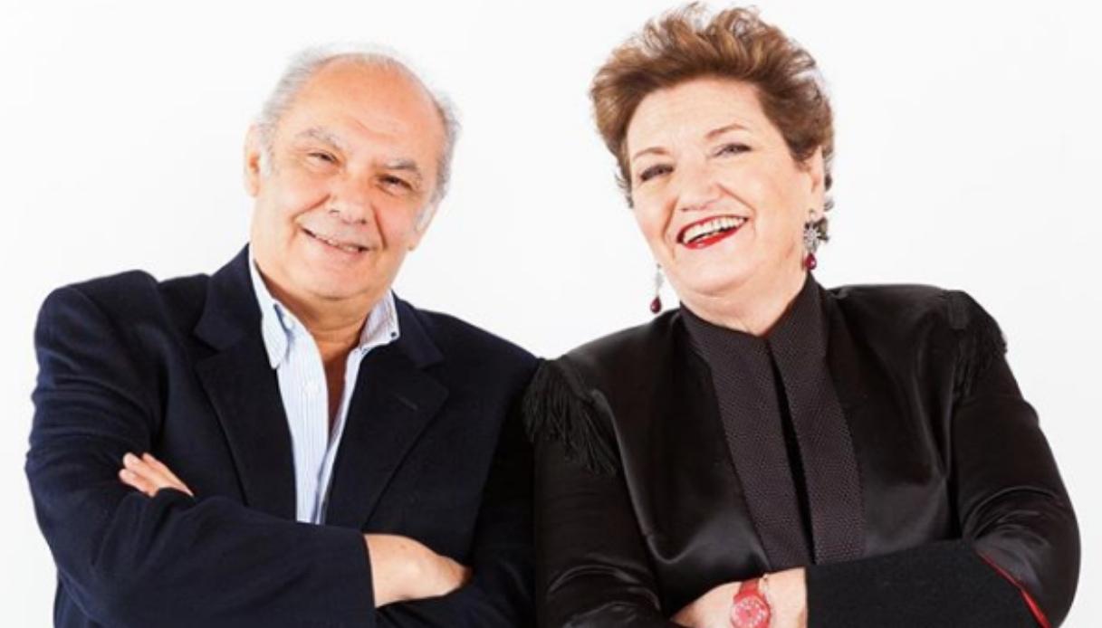 Mara Maionchi s'incazza con ilo marito Alberto Salerno