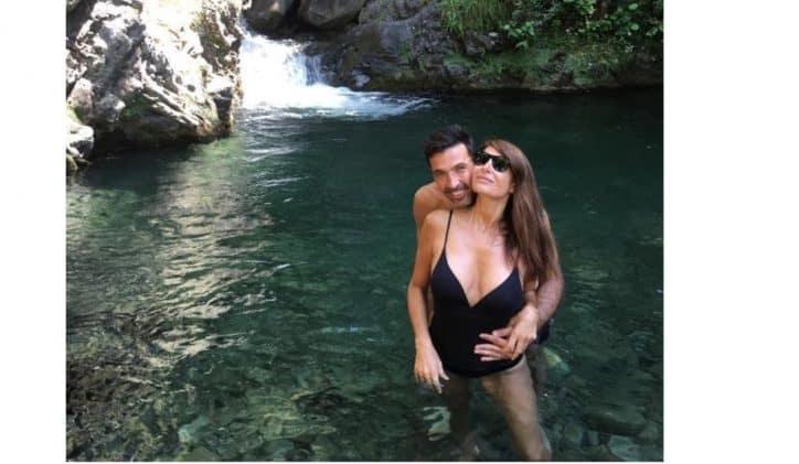 Ilaria D'Amico e Gigi Buffon, nel bel mezzo di una vacanza a Forte dei Marmi