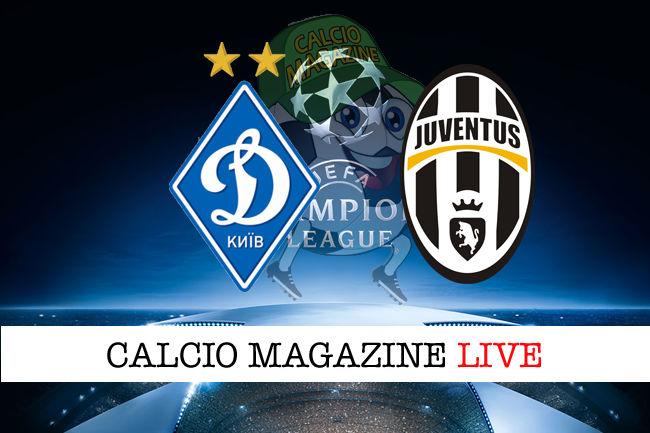 Streaming Live Dinamo Kiev – Juventus Diretta Tv Gratis dove vedere No Rojadirecta (Ore 18:55)