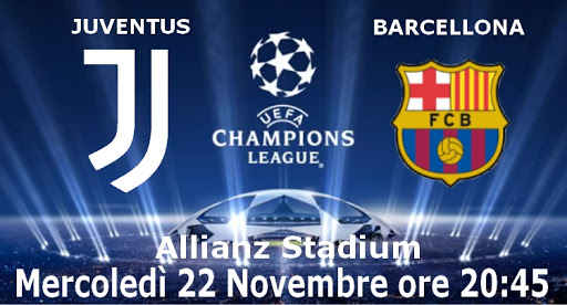 Streaming Web Juventus – Barcellona dove vedere diretta live Tv Gratis No Rojadirecta Sky o Dzan?