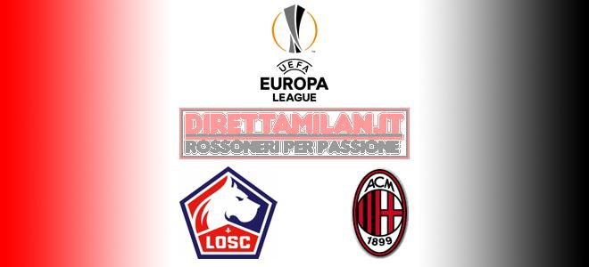 Streaming Gratis Lilla – Milan, diretta live tv sky o dazn: dove e come vedere la partita