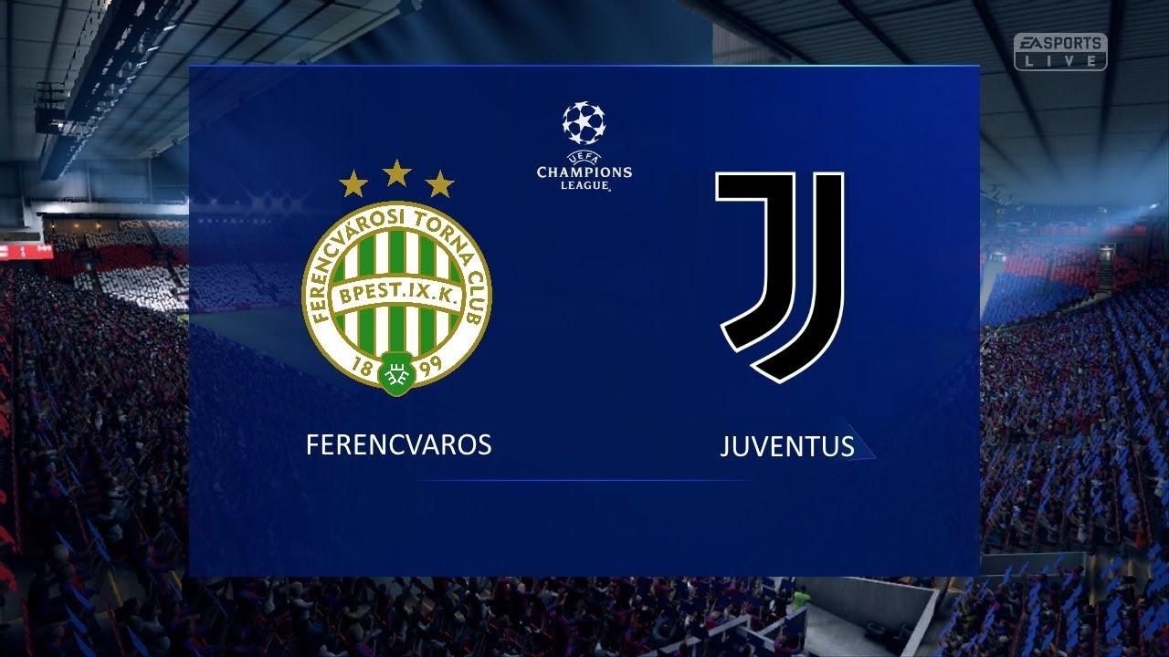 Streaming Web Ferencvaros – Juventus Gratis come vedere Diretta Live Tv