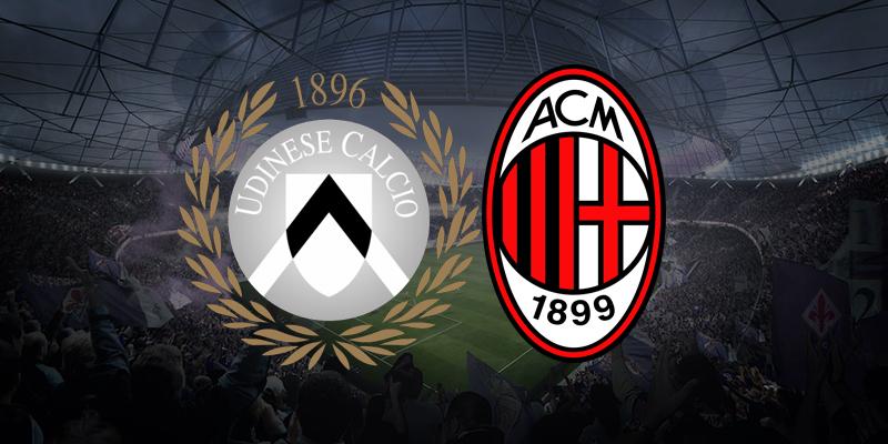 Streaming Web Udinese – Milan dove vedere diretta live Tv Gratis No Rojadirecta Sky o Dzan?