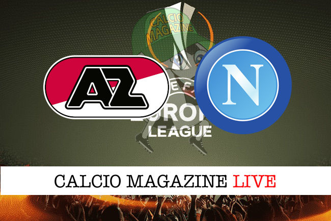 Dove vedere diretta live tv Az Alkmaar –  Napoli Streaming Gratis