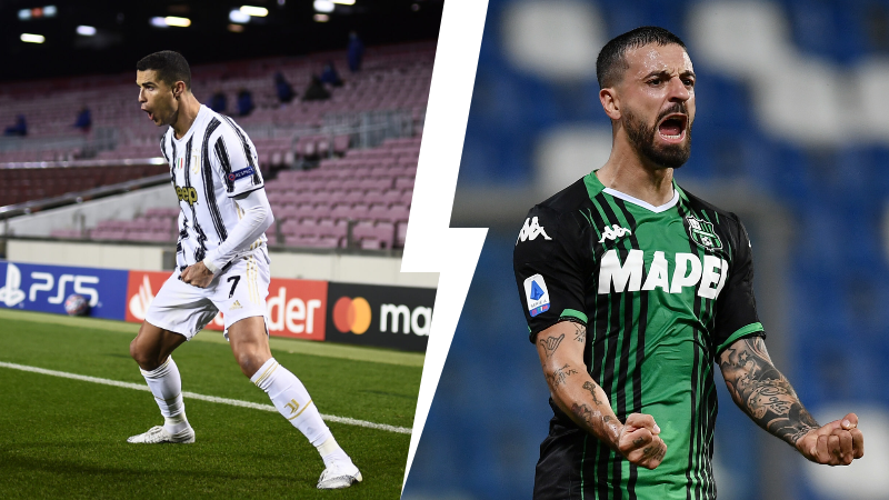Juventus  Sassuolo streaming gratis diretta live  tv